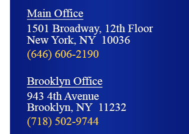 1501 Broadway, 12th Floor, New York, NY 11036